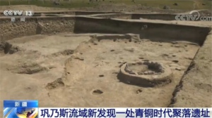 新疆:巩乃斯流域新发现一处青铜时代聚落遗址
