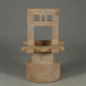 战国 · 灰陶井(深圳博物馆)