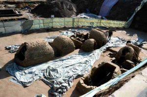 山东精神过:德州一建筑工地发现东汉古墓 将进行拆解保护