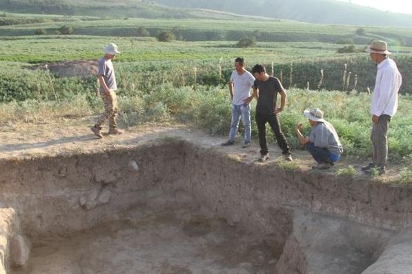 陕西省考古研究院在哈萨克斯坦考古又有新发现