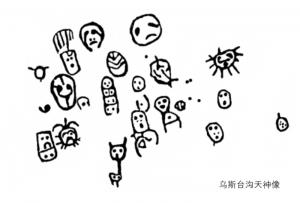 叶庆兵:内蒙古乌斯台沟岩画的天神群像