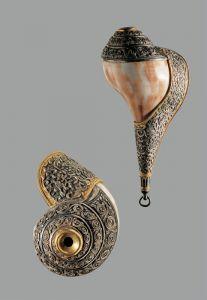 清代 · 左旋法螺(甘肃省博物馆)