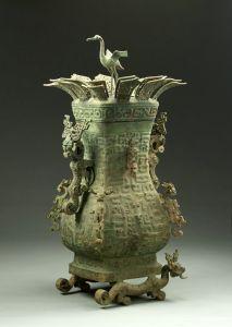 春秋 · 莲鹤方壶(河南博物院)