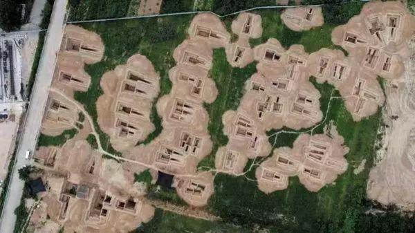 河南灵宝大型汉墓群发掘古墓葬76座 出土文物720余件