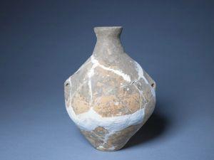 新石器时代 · 磁山文化红陶小口瓶(故宫博物院)