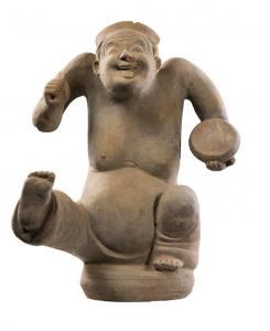 东汉 · 陶俳优俑(成都博物馆)