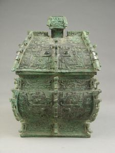 西周 · 叔牝方彝(洛阳博物馆)