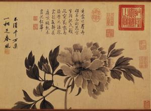 王瑀:常往苏州寺院的沈周,留下哪些寄情牡丹的诗与画?