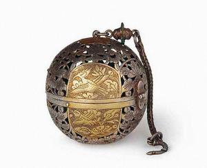 唐代 · 鎏金银香囊(中国国家博物馆)