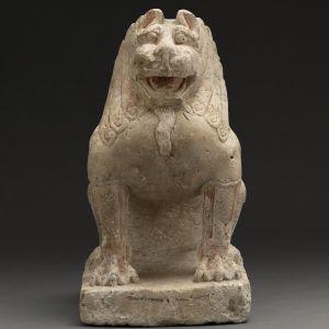 唐代 · 石狮(上海博物馆)