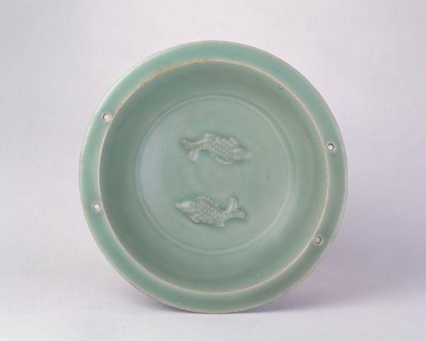 张米:繁盛和谐 吉祥有鱼 考古出土的龙泉窑双鱼纹