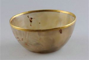 北宋 · 金扣玛瑙碗(安徽博物院)