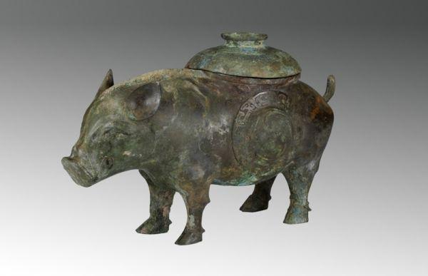 西周 · 猪尊(山西博物院)