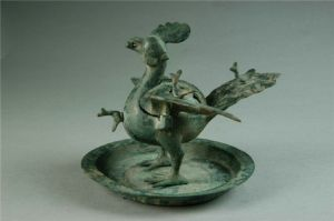 西汉 · 五凤铜熏炉(河南博物院)