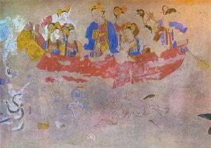 张同胜:撒马尔罕古城壁画中的李唐帝后