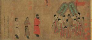 王加:东方人物画中表现的主次及尊卑