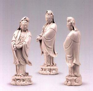 明代 ·  德化窑观音立像(宁夏博物馆)