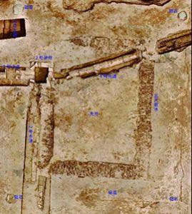 陕西西安汉长安城遗址处发现一组西汉建筑遗址