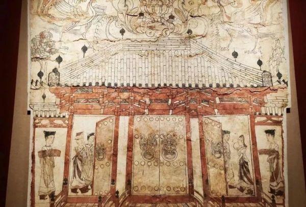 渠传福:九原岗壁画中的神怪形象