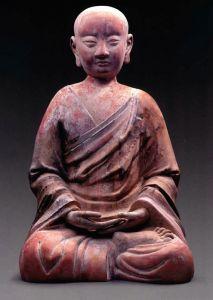 西夏 · 彩绘泥塑罗汉像(宁夏博物馆)