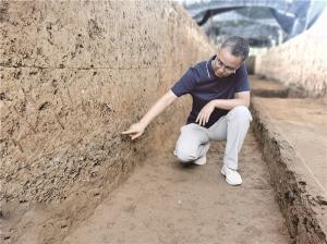 河南:汉魏洛阳故城遗址——一处剖面展现500多年间朝代更替