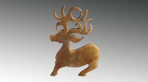 西周 · 玉鹿(山西博物院)